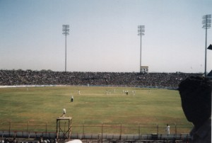 Ahmedabad Cricket India v Zimbabwe, Dec 2000