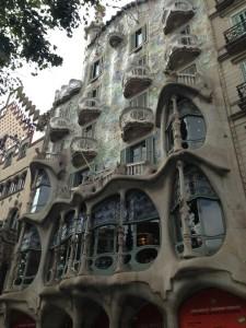 Gaudi's unique style