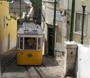 Lisbon Tram by Roger Hyland