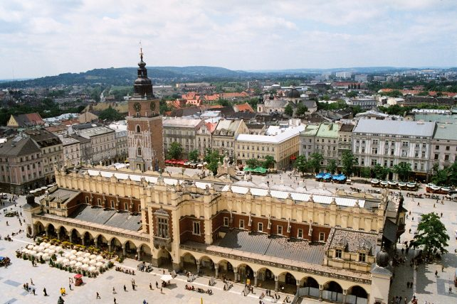 Backpacking in Krakow