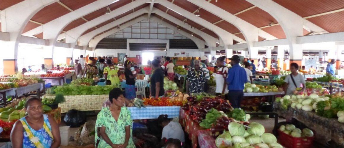 Food market in Port Villa1