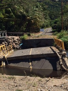 Broken Road Dominica