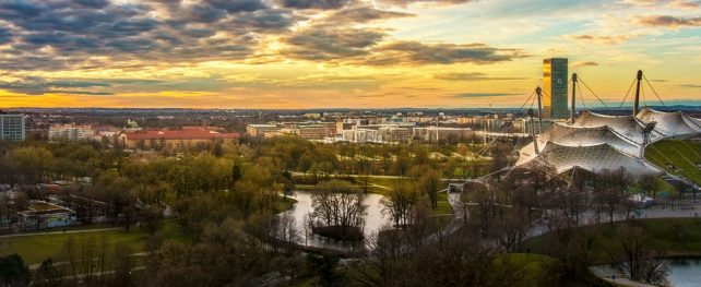 Backpacking in Munich
