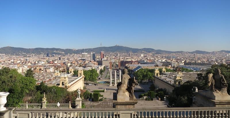 Barcelona Backpacking