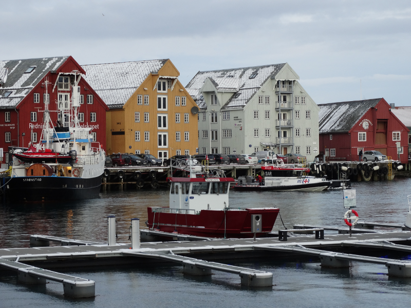 Norway Tromso harbour