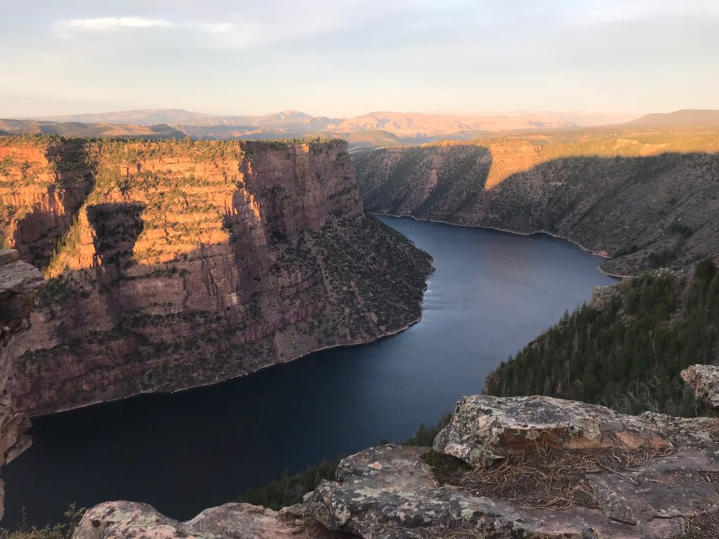Red Canyon, part of the Flaming Gorge National Recreation area in North Eastern Utah