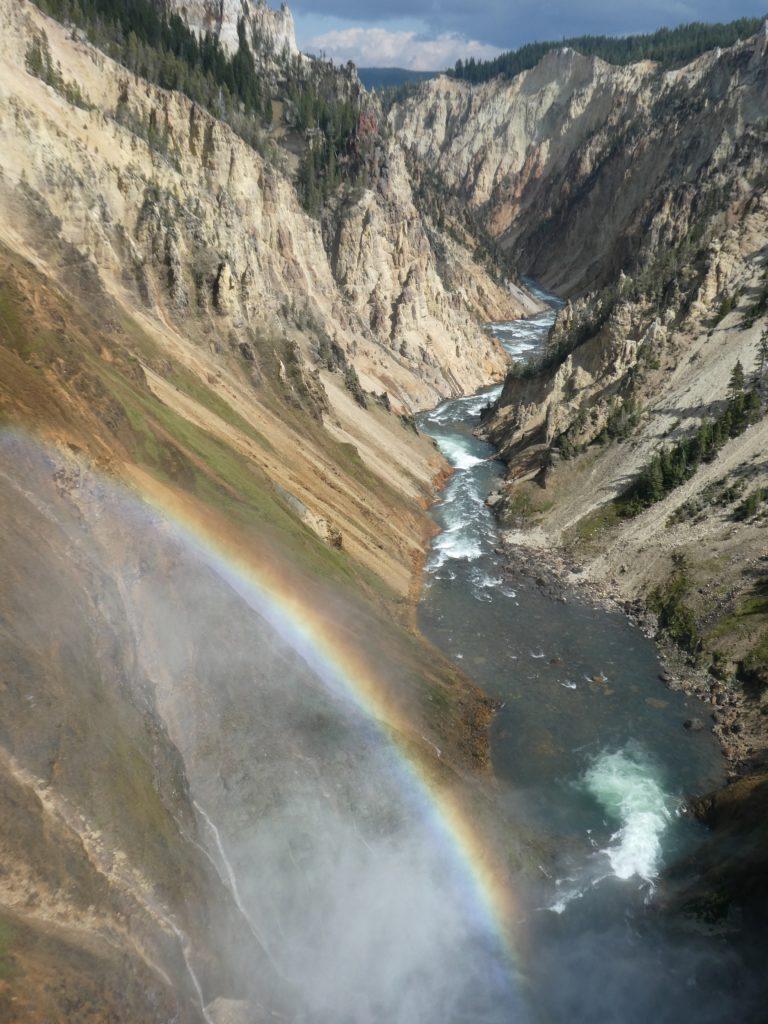 Grand Canyon of the Yellowstone, USA