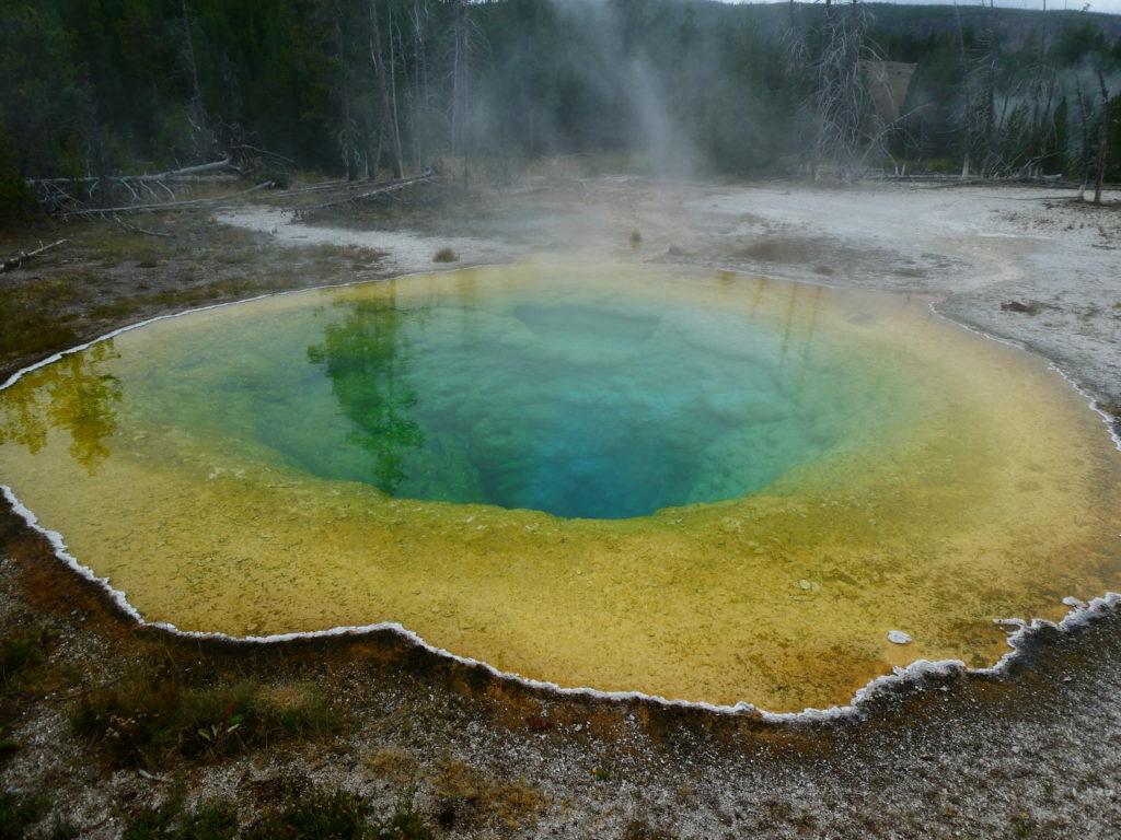 Morning Glory Pool, Yellowstone, United States