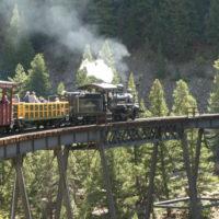 Silver Plume to Georgetown loop railway