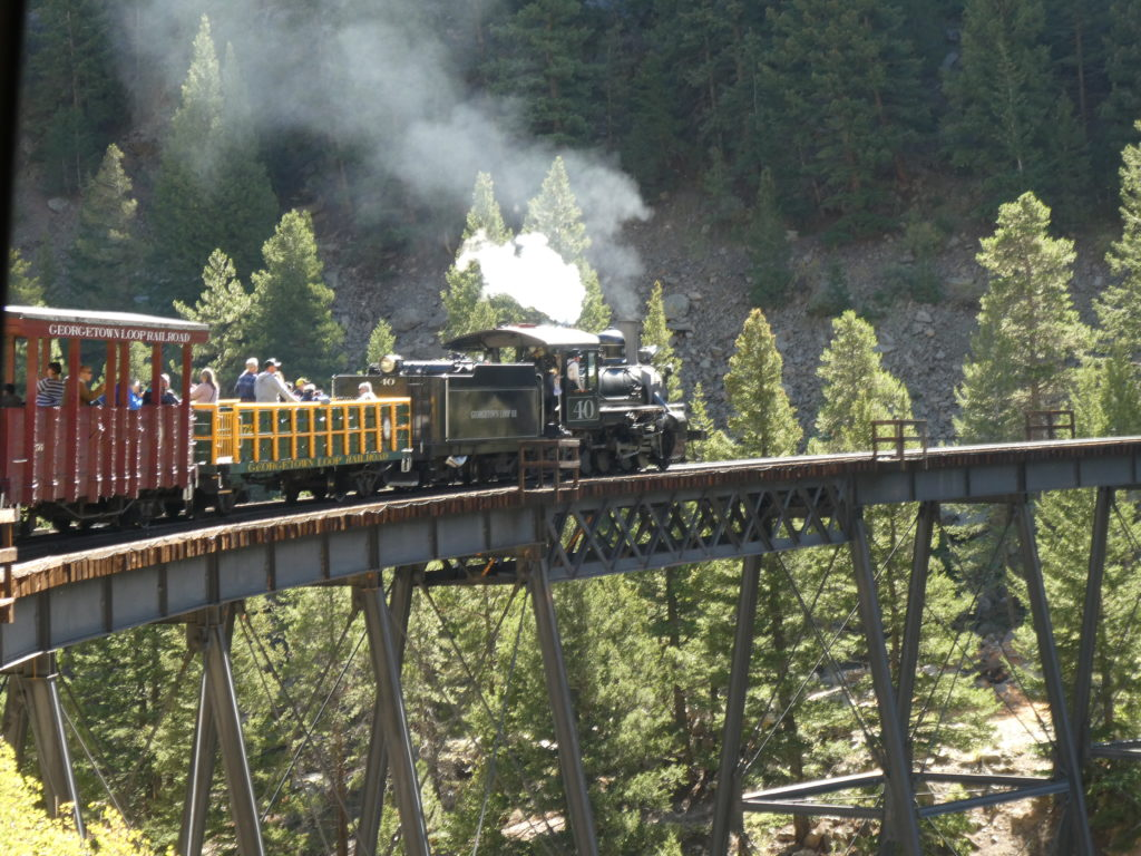 Silver Plume to Georgetown loop railway