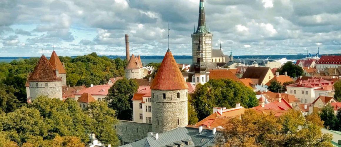 Tallinn View from Toompea Hill