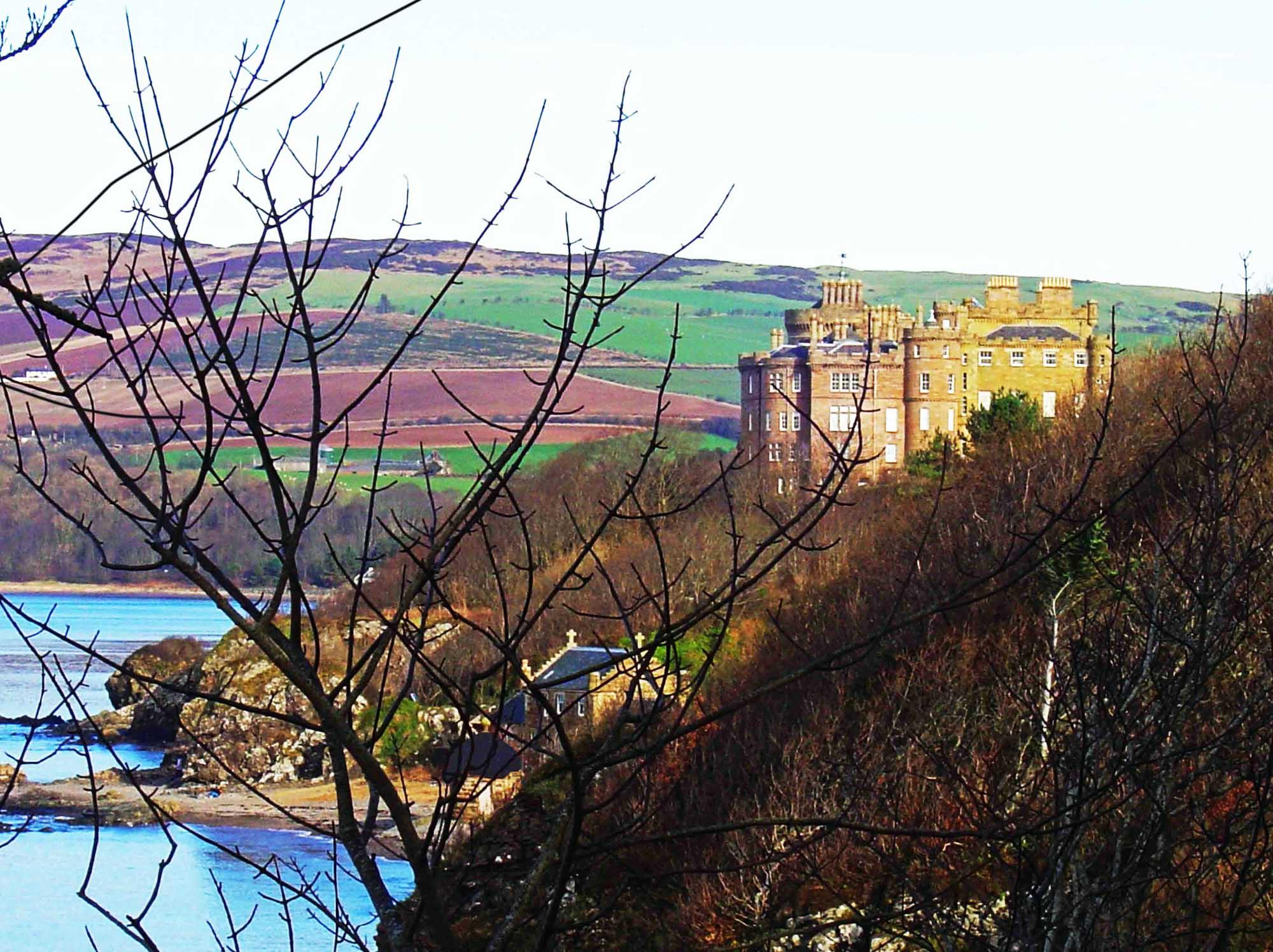 Culzean Castle is a castle, near Maybole, Carrick - National Trust Scotland